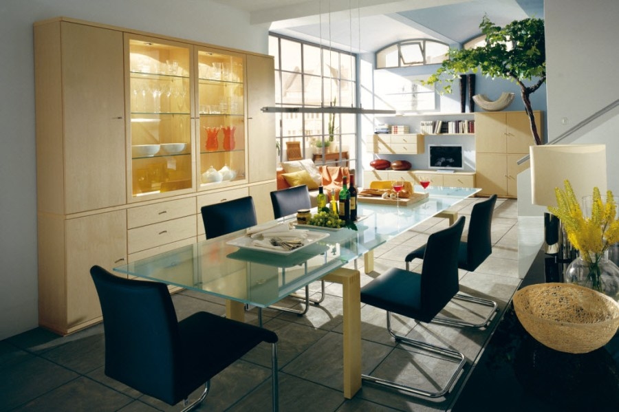 Awesome Dining Rooms From Hulsta blue black dining room