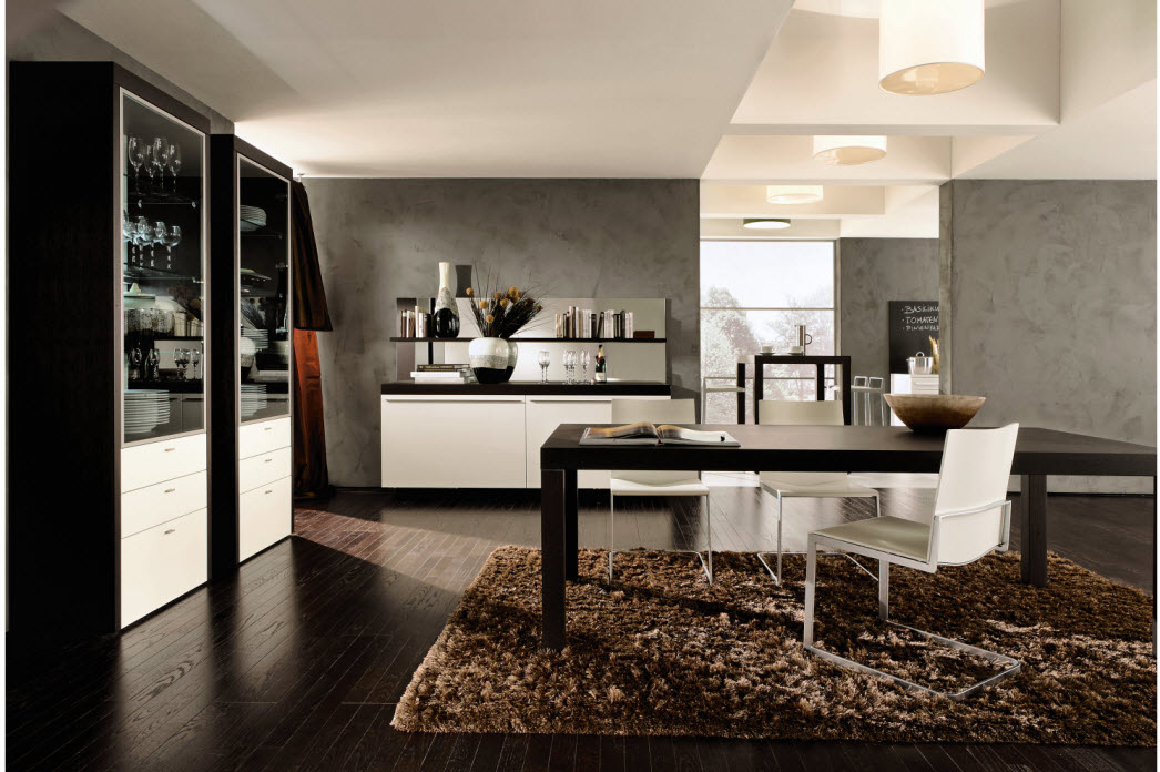 Awesome Dining Rooms From Hulsta dining table and the rug