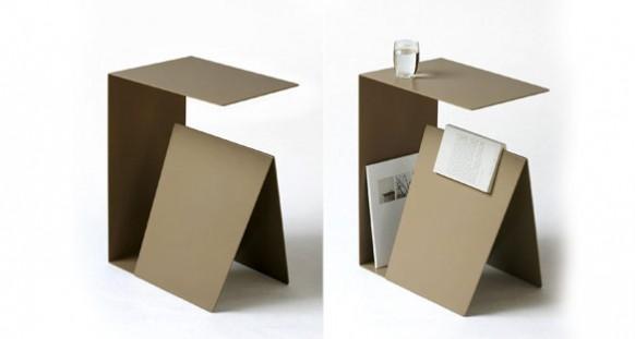 side table magazine holder