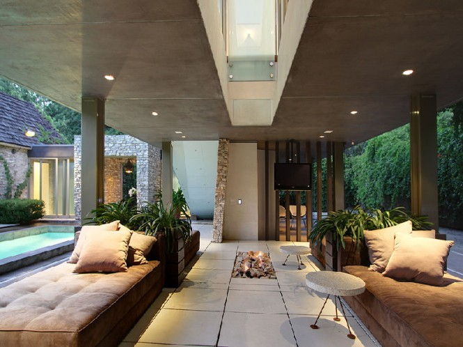 striking open living areas