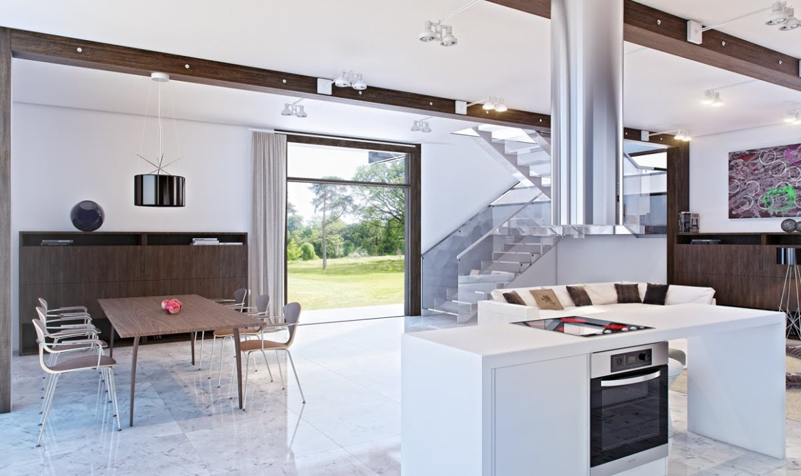 modern open kitchen   interior design ideas.