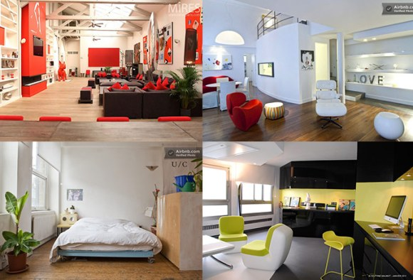 Loft interior design