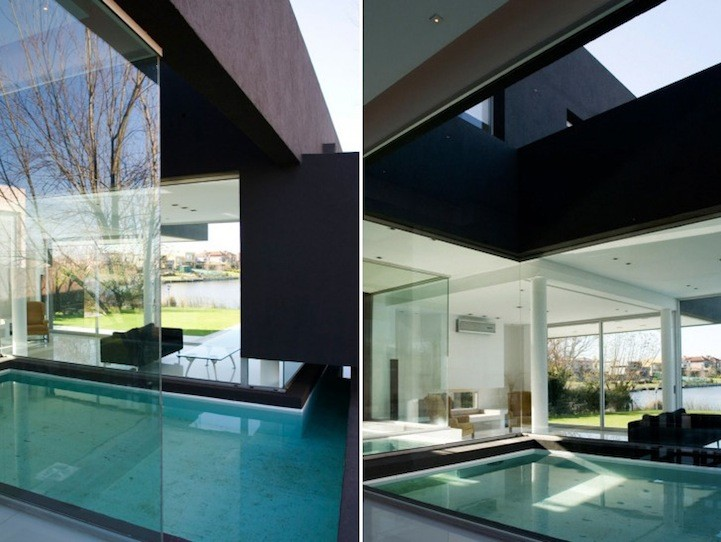Remy Black House Pool Interiors Interior Design Ideas