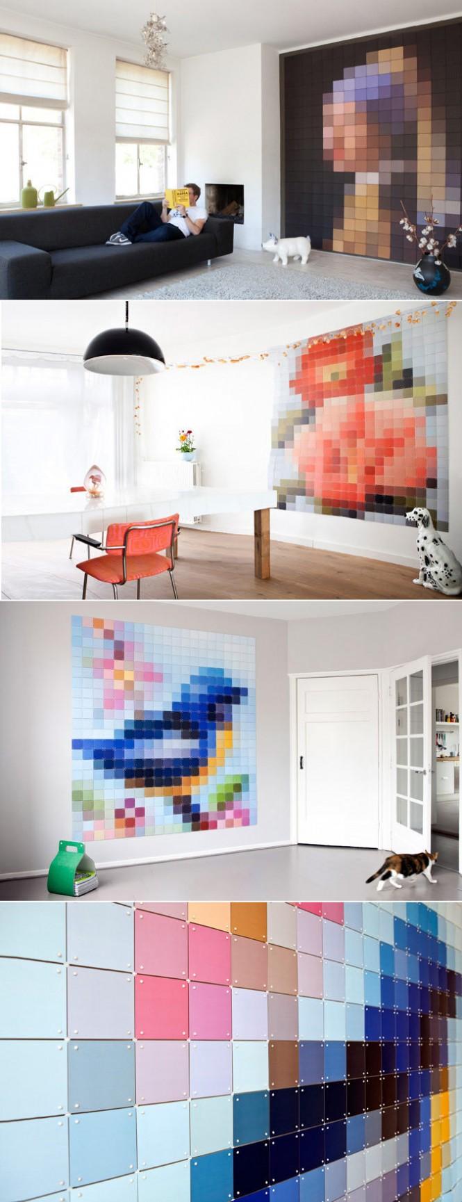 pixel-wall-art
