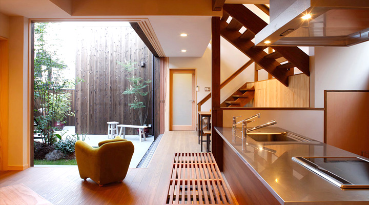 Japanese Kitchen Interior Design