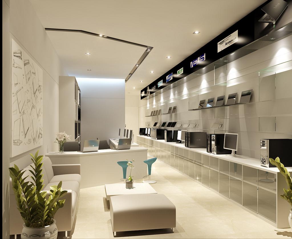 | computer store interior designInterior Design Ideas.