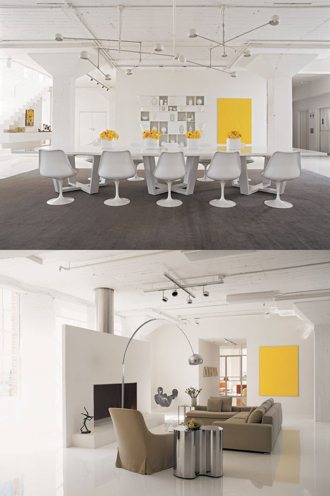 Yellow And Gray Living Room Simple Design Ideas
