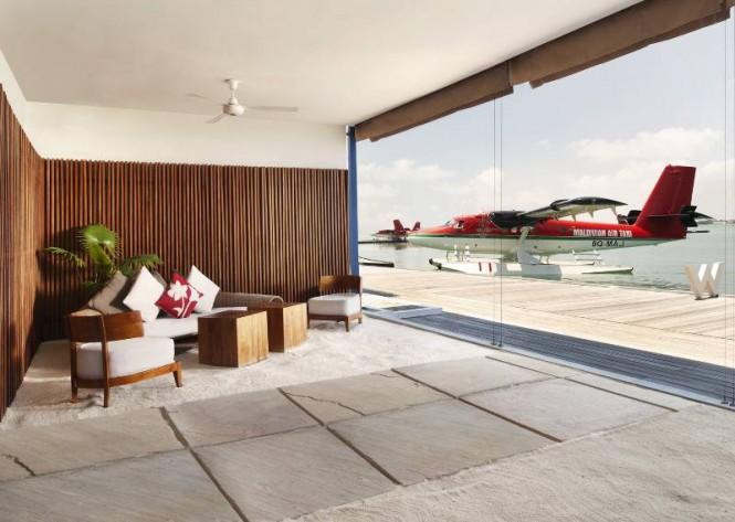 W Retreat Maldives waterplane