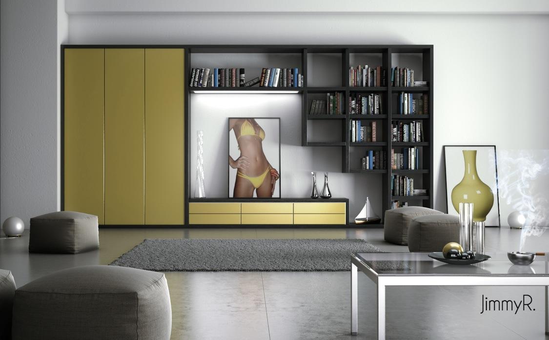 Make A White Living Room Chic & Unique