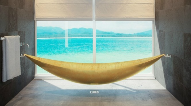 SplinterWorks aren't just kitchen experts though, other interesting projects include the elevated, hammock-like 'Vessel' bathtub, and the 'Stiletto' which can be utilized as a desk, a console table or a dressing table, and features a slender 'stacked heel' silhouette and iconic 'red sole'.