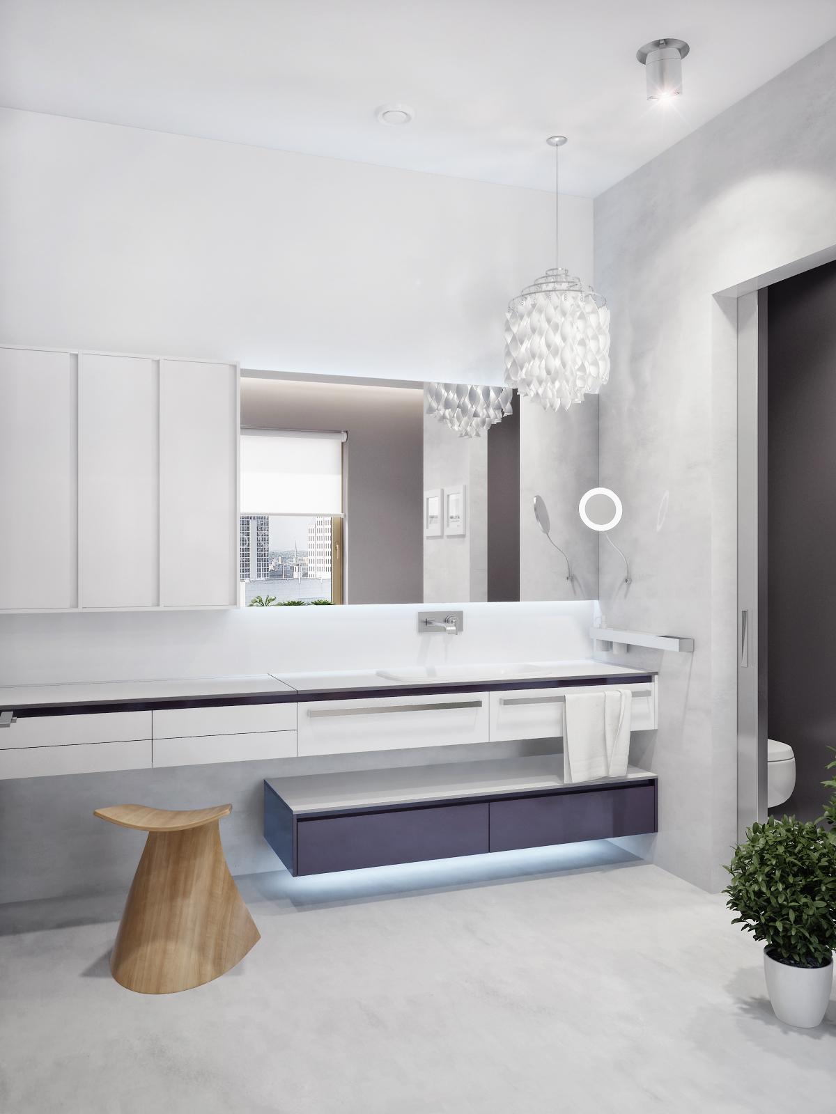 Led Bathroom Floor Lights