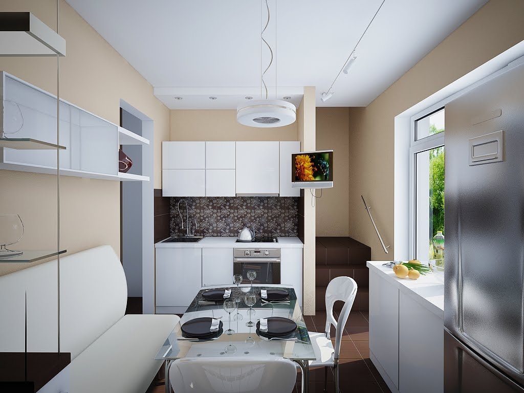 Small Kitchen Diner Design