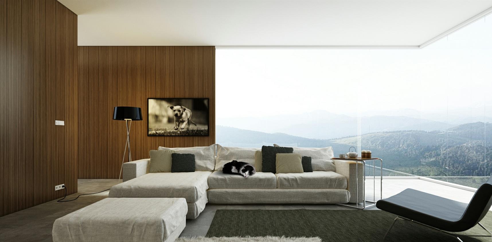 Chaise Lounge Sofa Grey