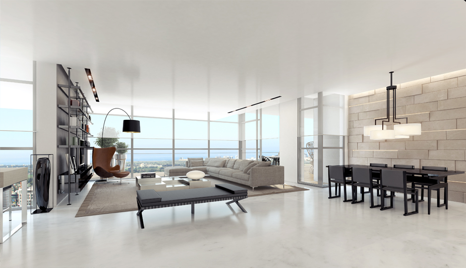 3 Modern Apartment Layout