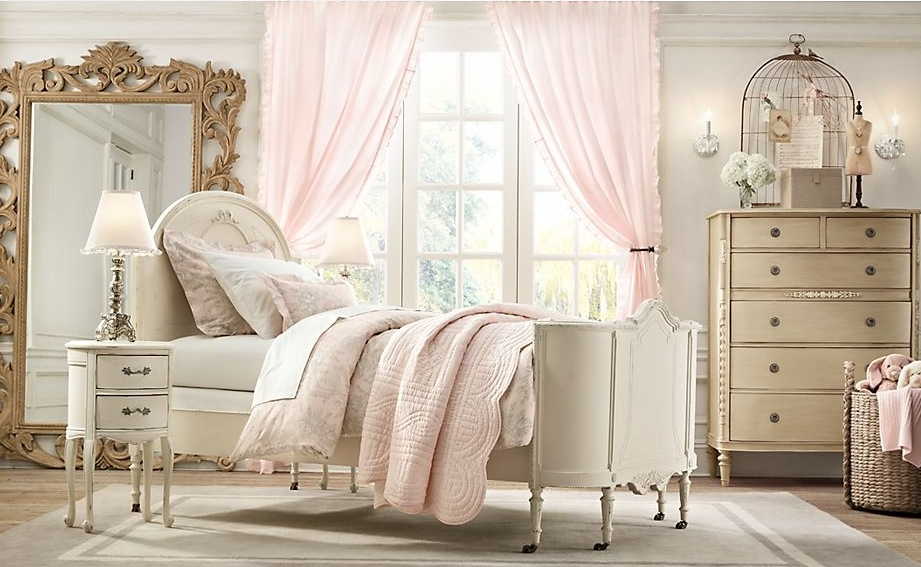 Vintage Shabby Chic Style Bedroom. vintage chic bedroom modern ...