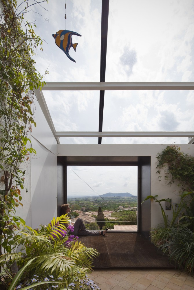 Glass Roof Interior Design Ideas