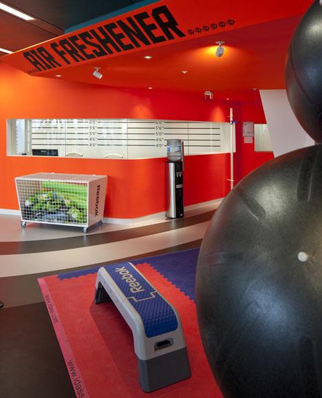 Office Gym Interior Design Ideas