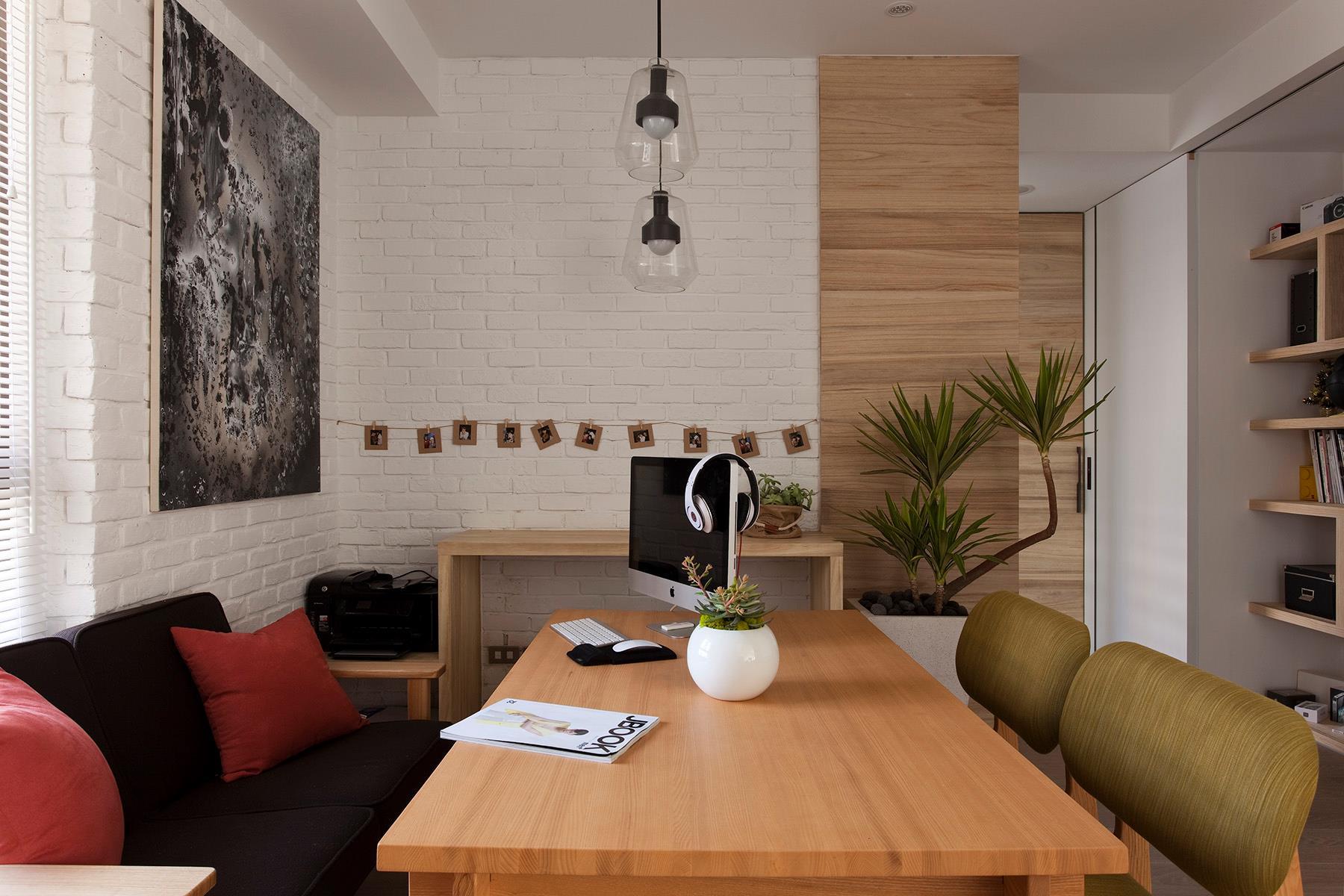 Modern Dining Room Office Interior Design Ideas