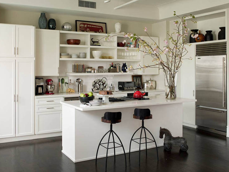 White Kitchen Cabinets Interior Design Ideas