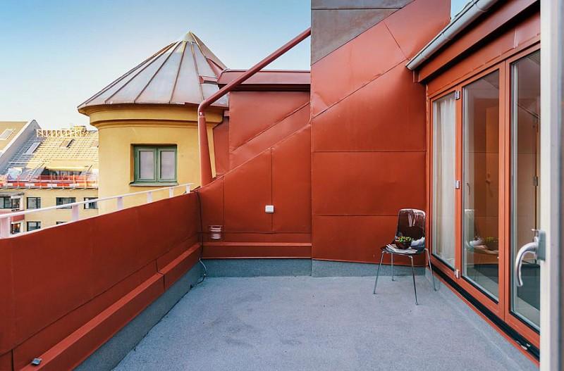 Modern Loft Terrace Interior Design Ideas