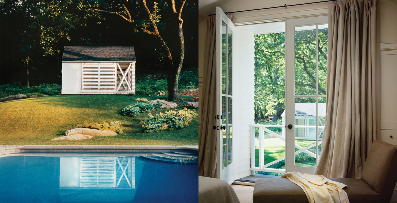 Poolside Landscaping Interior Design Ideas