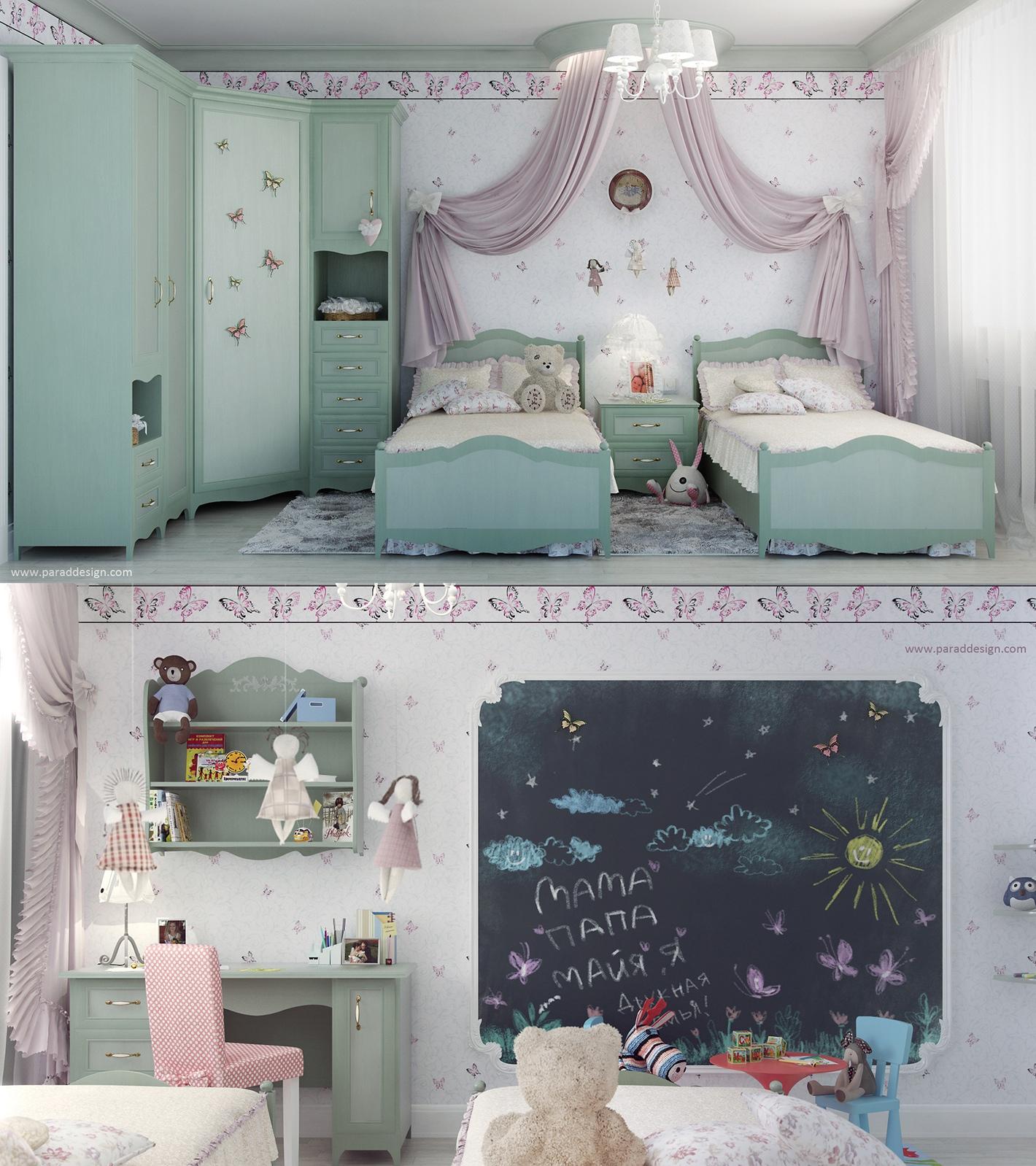2 Little Girls Bedroom 7