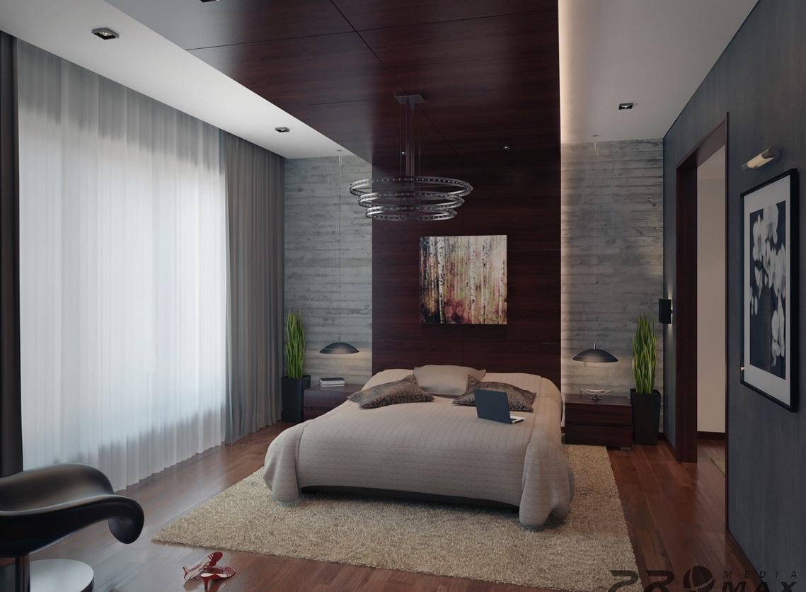 Bedroom Modern Apartment Interior Design Novocom Top