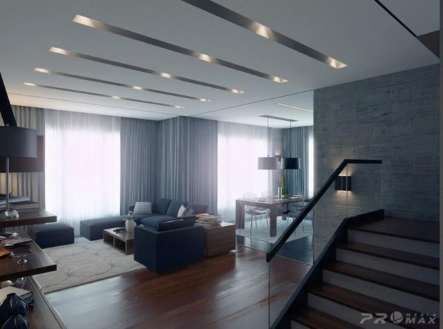 | modern apartment 1 living room 2Interior Design Ideas.