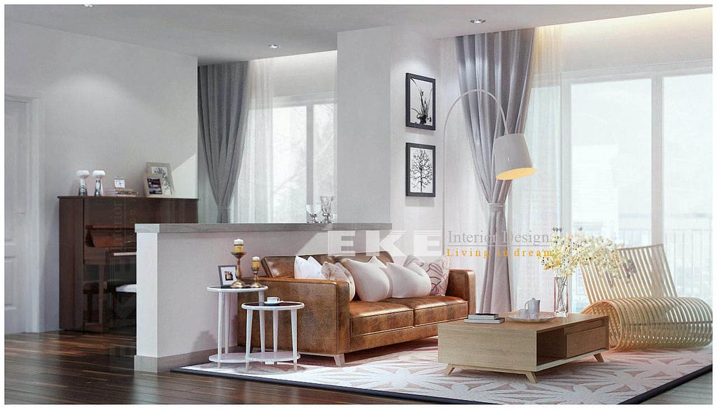 Glass Walled Modern Bedroom At Night Interior Design Ideas