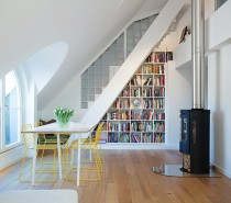 Swedish modern house dining room