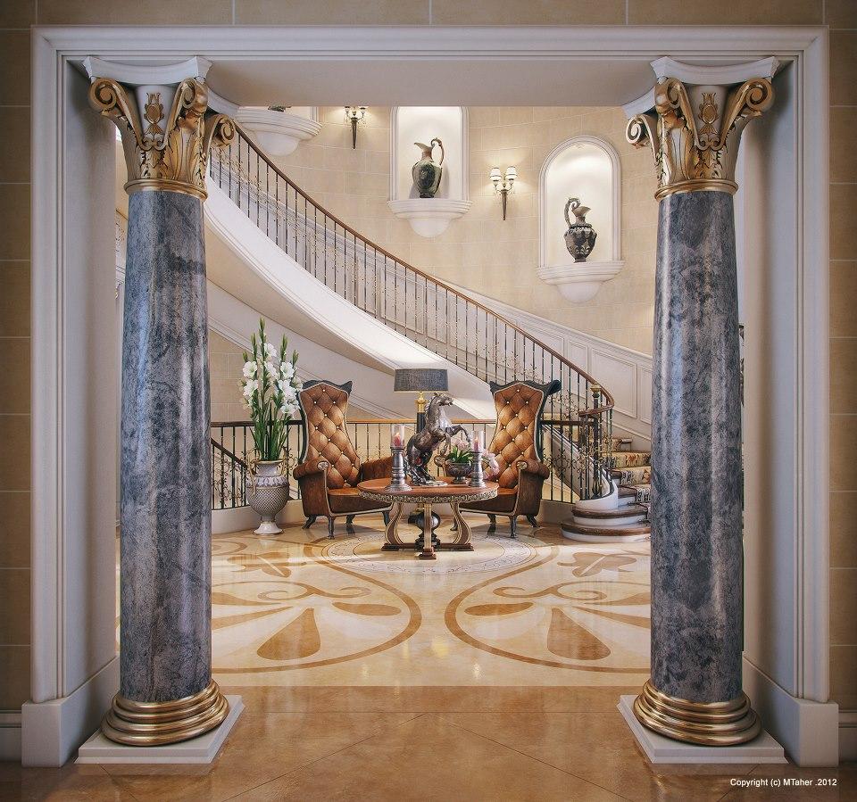 Professional luxury villa exterior designs in qatar - Majestic Decor And Interior Design Qatar Decorating Ideas