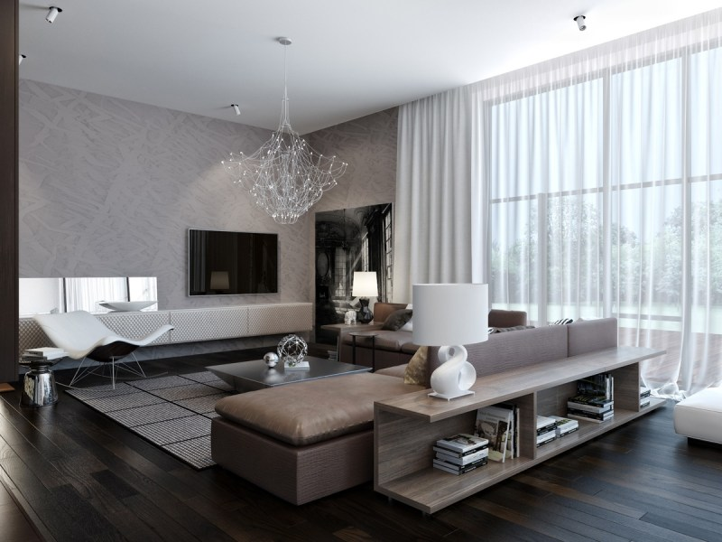 Modern House Living Room Interiors | Bluerosegames.com