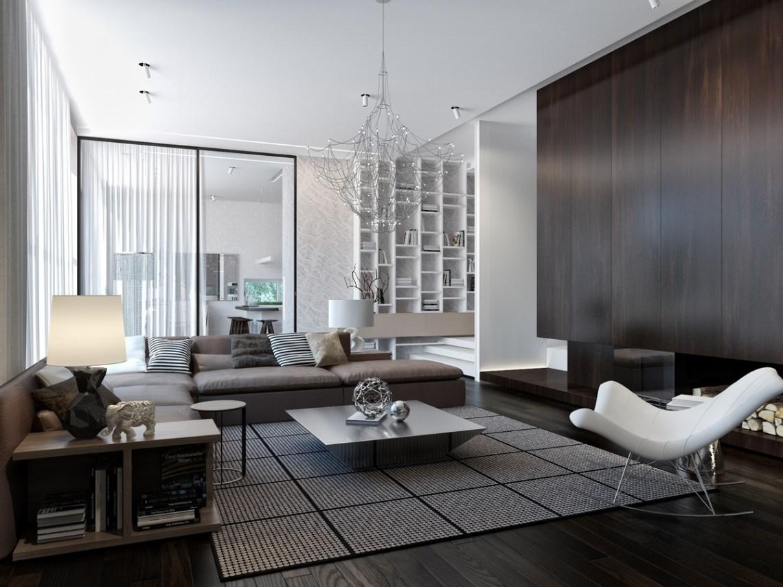 ultra modern house interior