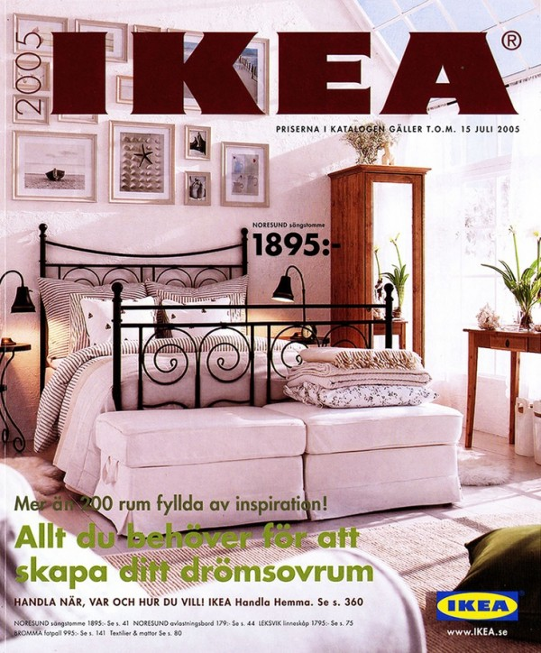 Ikea Catalog Covers From 1951 2018