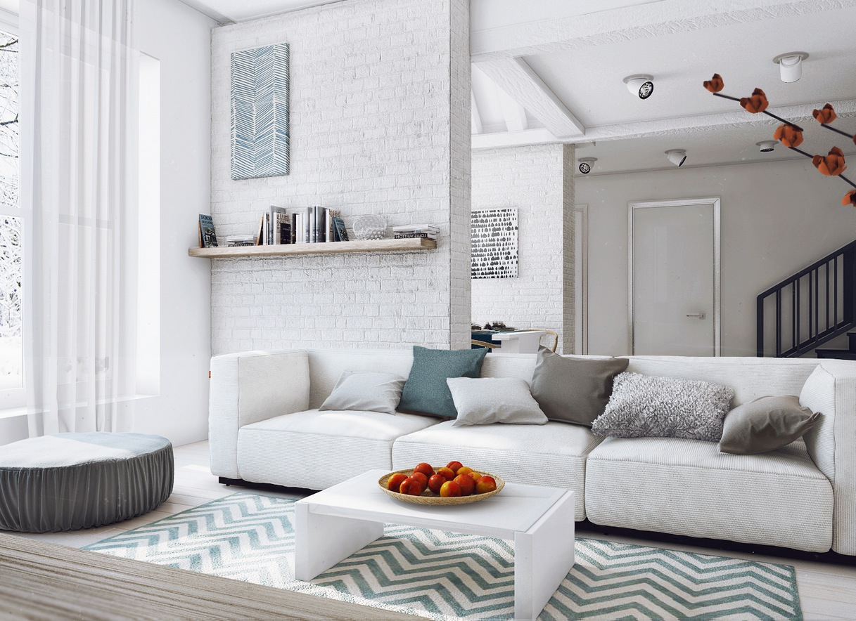 His And Hers Apartment Interior Design By Angelina
