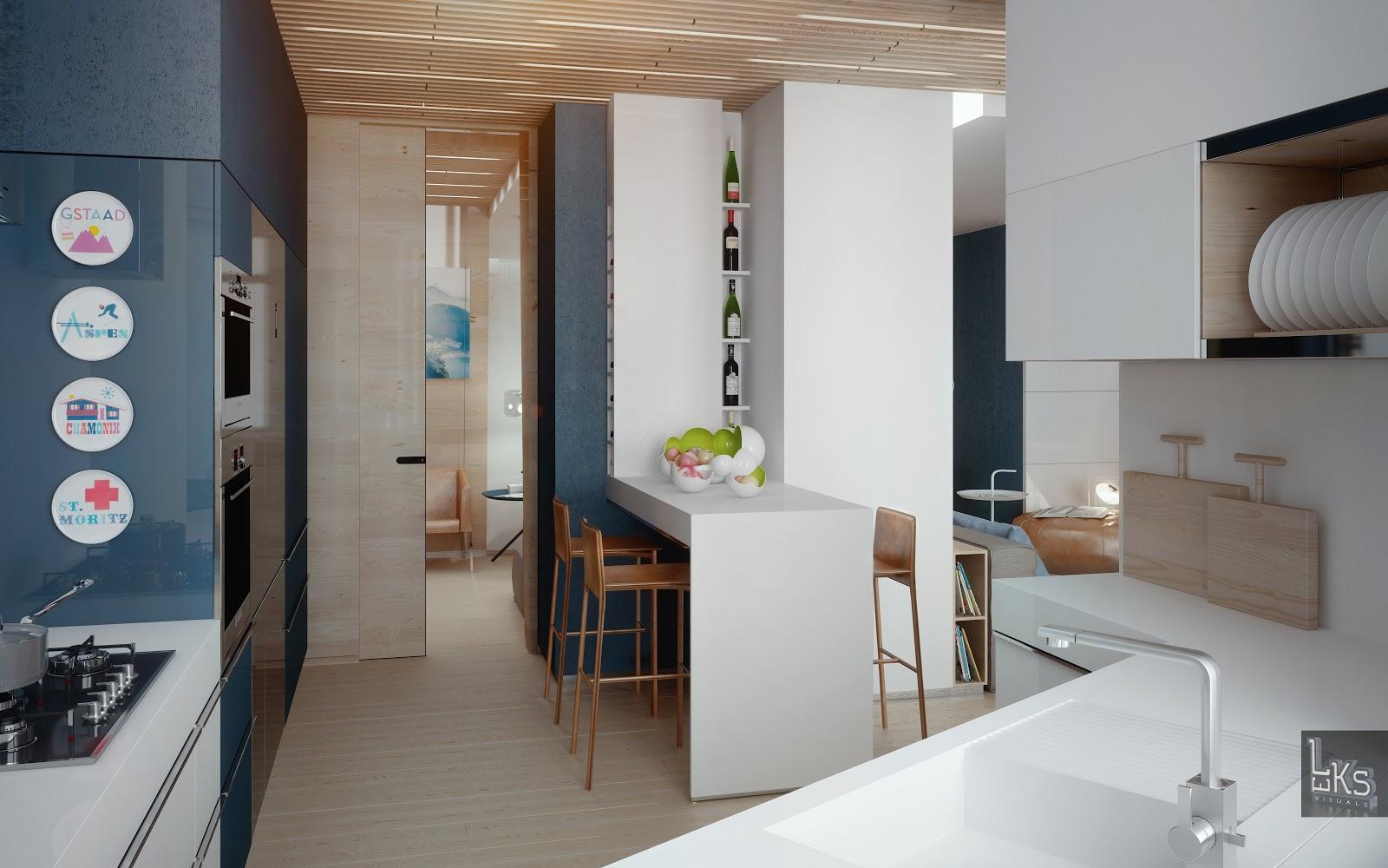 Small Kitchen Design Hong Kong