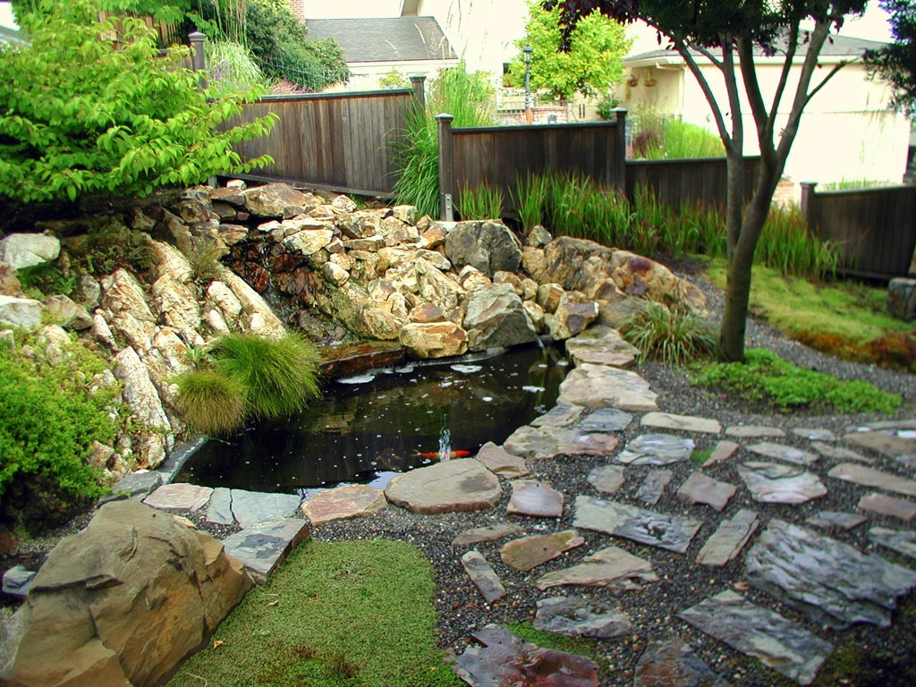 Decorative Rocks Pond