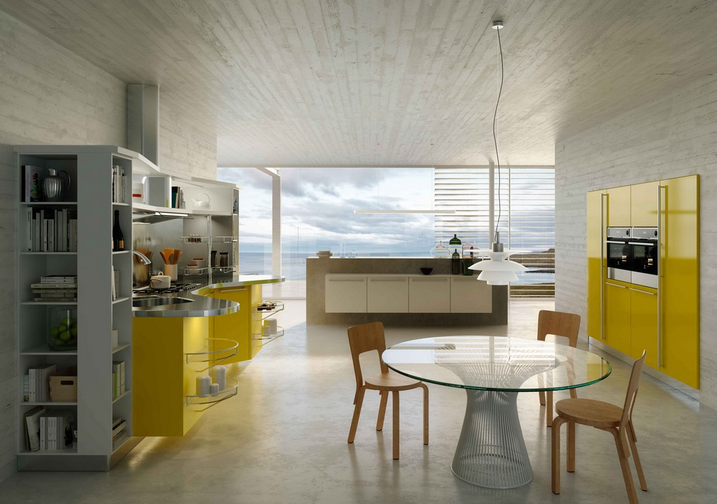 Yellow And Grey Kitchen Decor Ideas