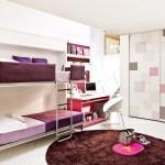 Purple Bunk Bedsinterior Design Ideas