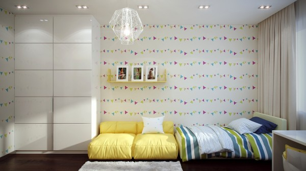 Funky kids room design