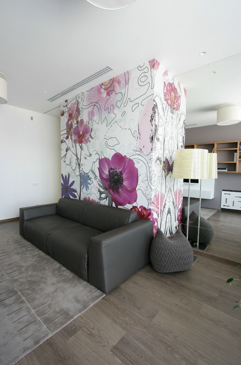 Floral Wallpaper Interior Design Ideas