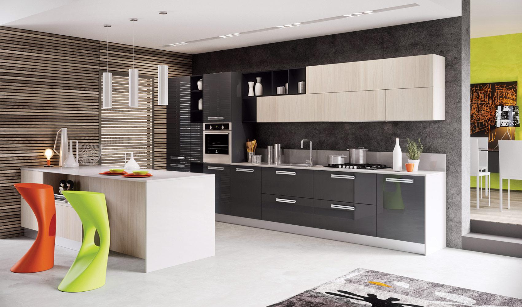 Best Kitchen Gallery: Modern Kitchens 2014 3 Modern Kitchens 2014 Weup Co of Interior Design Kitchen Colors  on rachelxblog.com