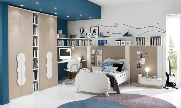 Teenagers bedroom design