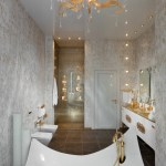 Gold White Bathroom Fixturesinterior Design Ideas