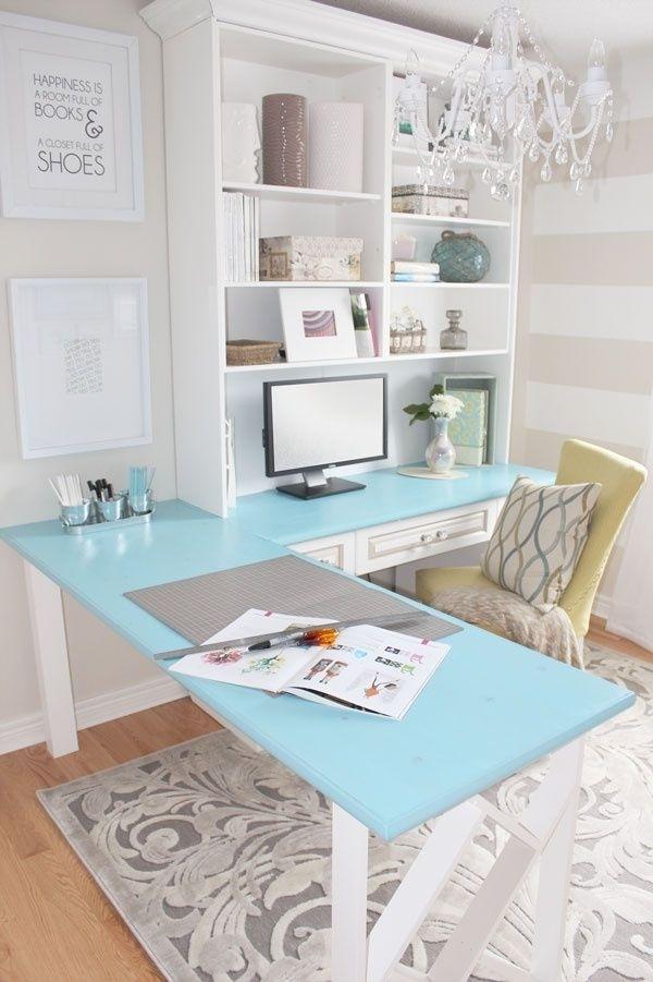 DIY Desk Traditional White Unit Interior Design Ideas