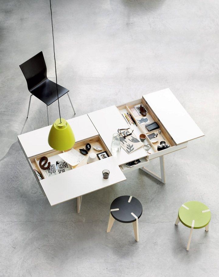 18 Hidden compartments desk