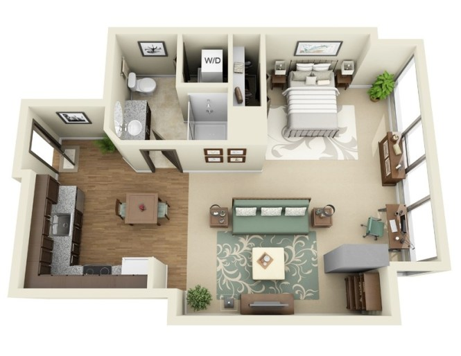Ladd Carriage House Interior Design