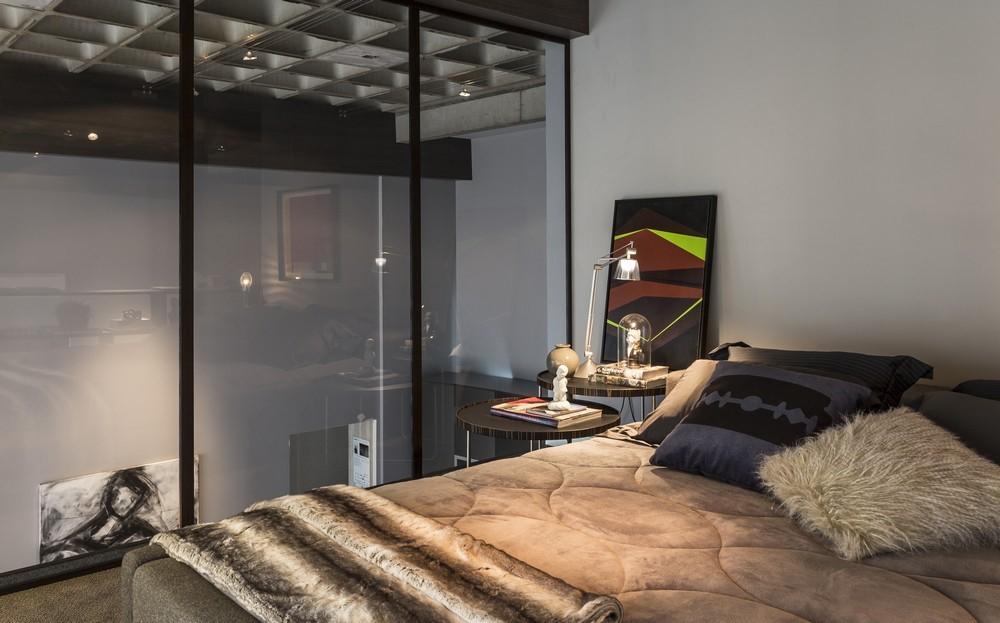 An Artful Loft Design