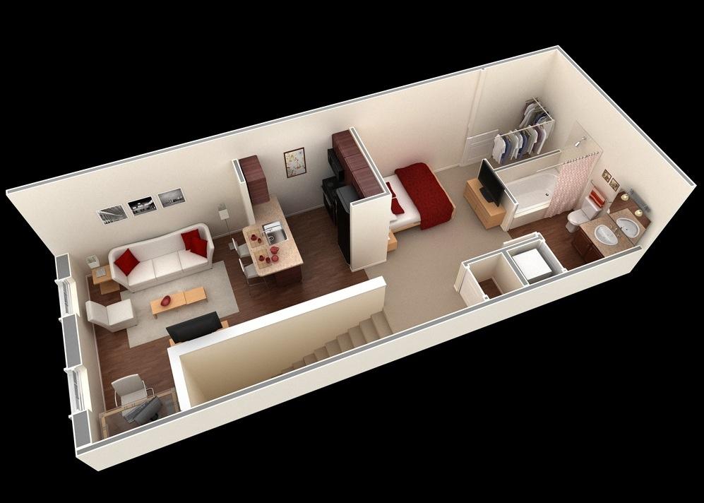 Small Apartment Design Plans