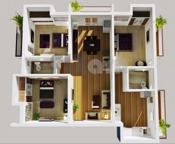 3 bedroom home floor plans